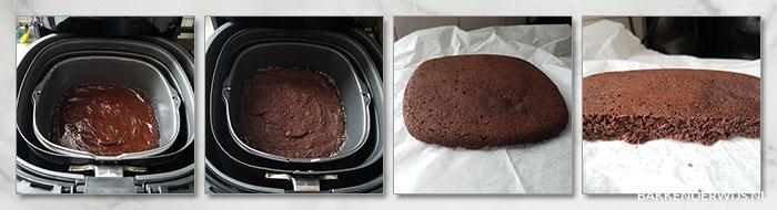 brownie airfryer stap voor stap recept
