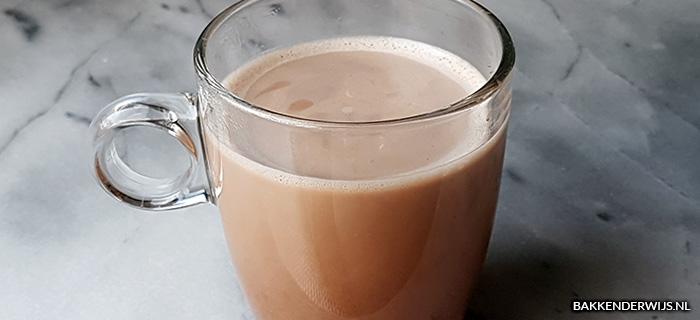 Koolhydraatarme chocolademelk recept