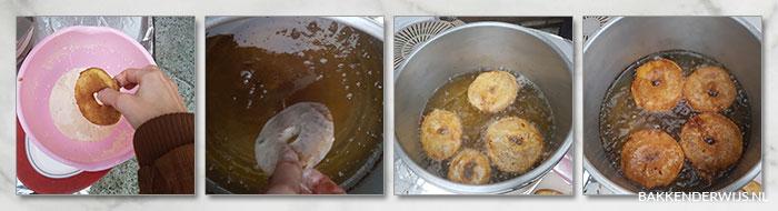 appelbeignets recept met beslag stap voor stap