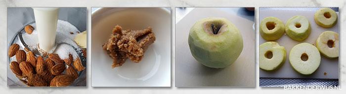 appelbeignets recept bladerdeeg stap voor stap