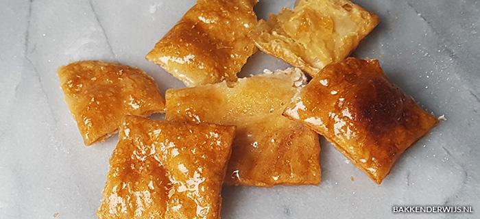 Bladerdeeg koekjes recept