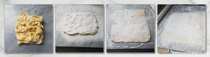 Bladerdeeg koekjes stap voor stap recept