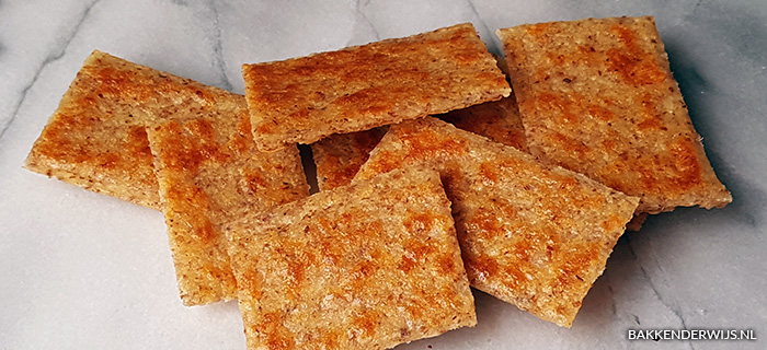 Koolhydraatarme crackers recept