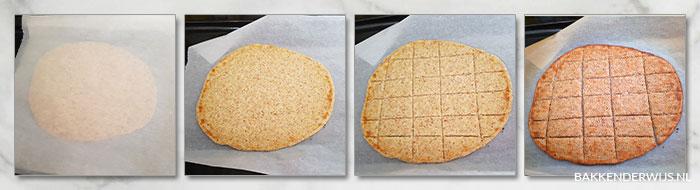 Koolhydraatarme crackers stap voor stap recept