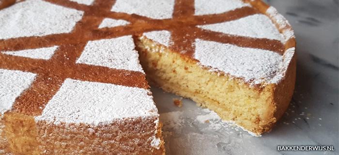 Spaanse amandeltaart recept