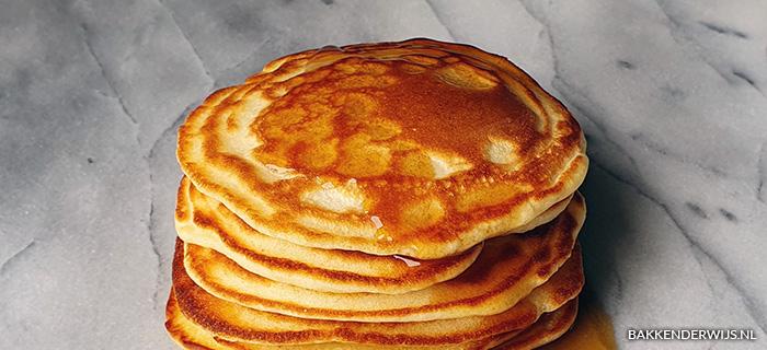 American pancakes met ahorn siroop