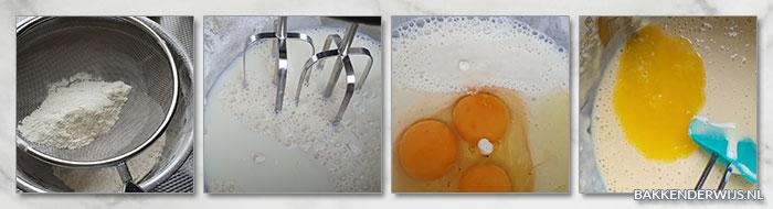 American pancakes stap voor stap foto recept
