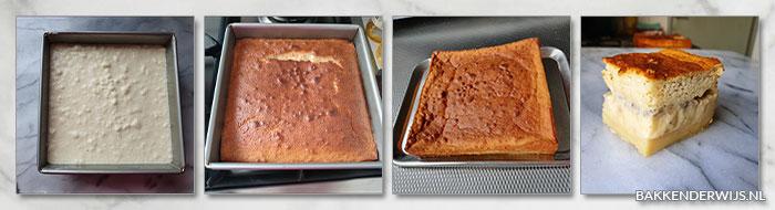 bananen magic cake stap voor stap recept
