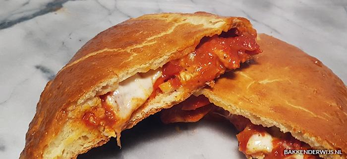 Pizza calzone recept