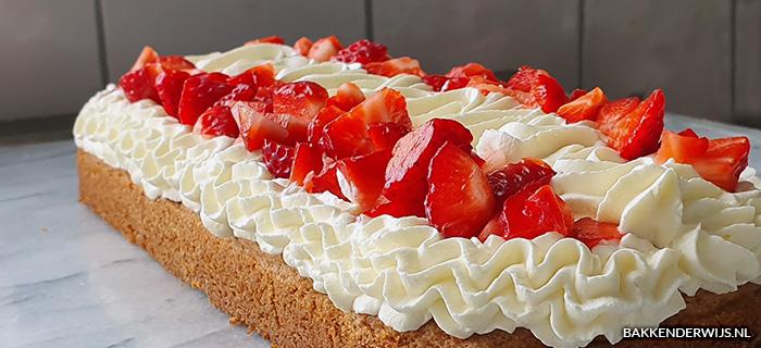 Aardbeien slof recept