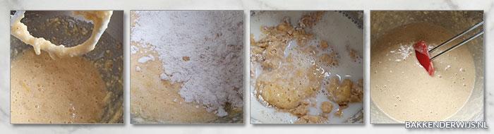 Bananen kruimelcake stap voor stap recept