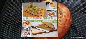 Simpele airfryer gerechten boekreview
