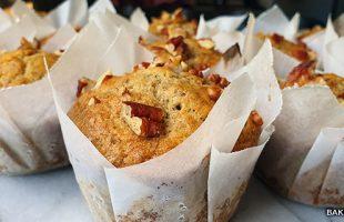Bananen pecannoten muffin recept