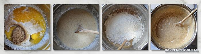 Bananen pecannoten muffin stap voor stap
