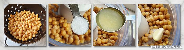 hummus stap voor stap recept