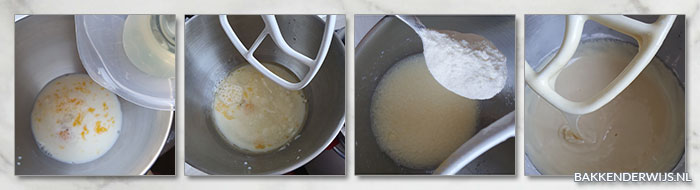 Zoet brood recept - quick bread stap voor stap