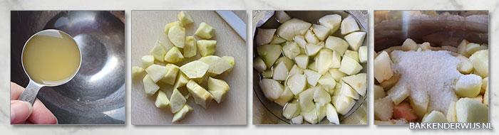appelmoes stap voor stap recept