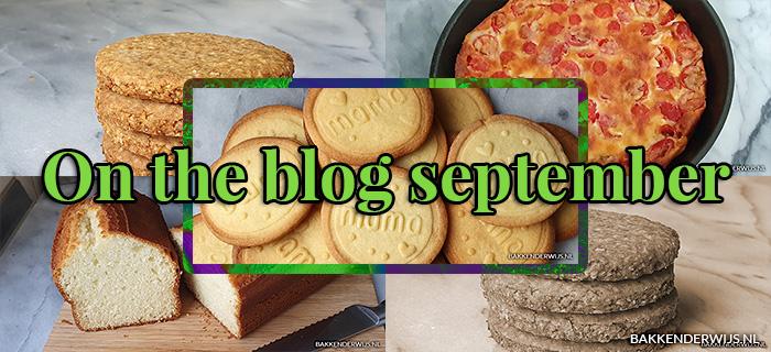 On the blog september