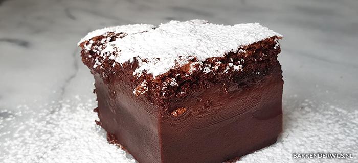 Chocolade magic cake recept