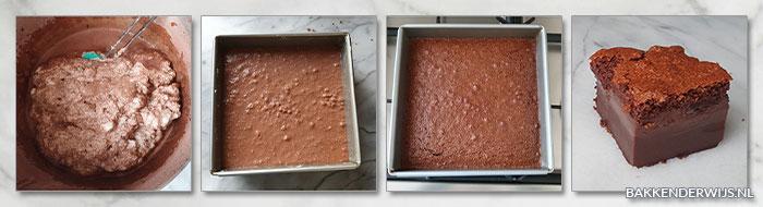 chocolade magic cake stap voor stap recept