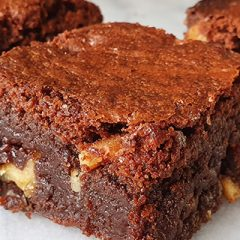 Brownies met walnoten recept
