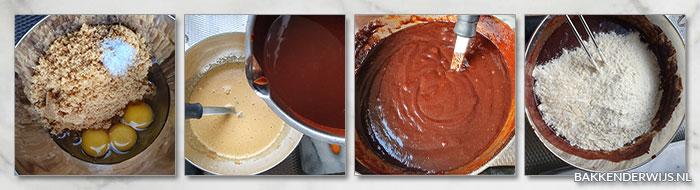 Brownies met walnoten stap voor stap recept