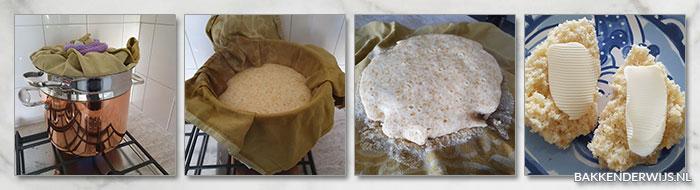 Roti kukus stap voor stap recept