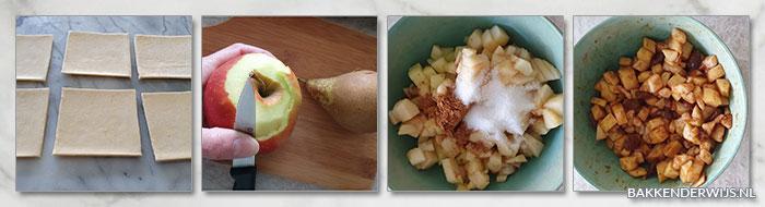 Appel-perenflappen stap voor stap recept
