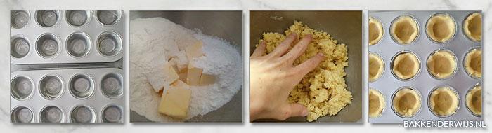 Mini citroentaartjes stap voor stap recept