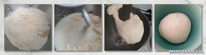 Pretzel bites met zeezout stap voor stap
