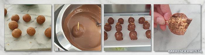 Stroopwafel truffels stap voor stap recept