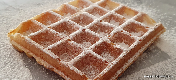 Wafels recept - basis