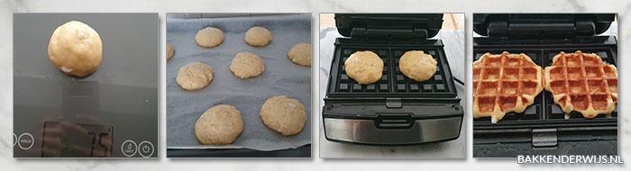 Luikse wafels stap voor stap recept