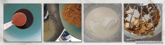 Cappuccino tartelettes stap voor stap recept
