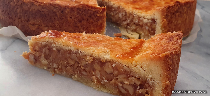 Engadiner nusstorte recept - Zwitserse notentaart