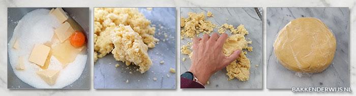 Engadiner nusstorte - Zwitserse notentaart - stap voor stap recept
