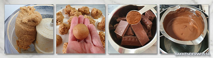 Tiramisu truffels stap voor stap recept