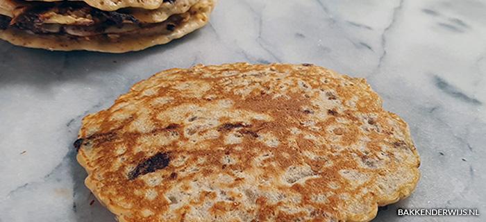Chocolade krispies pancakes recept