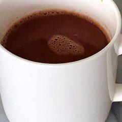Chocolademelk van chocolade recept