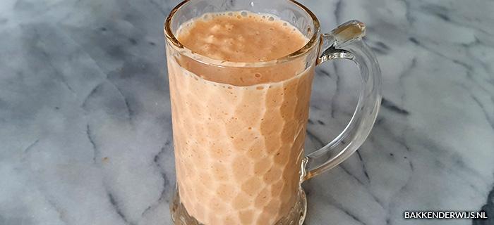 Wortel appel havermout smoothie