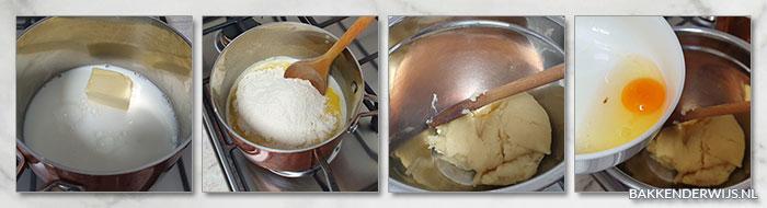 Mokka soesjes stap voor stap recept
