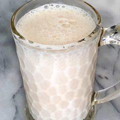 Snelle bananen milkshake recept