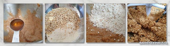 Rice krispies havermout koekjes stap voor stap recept