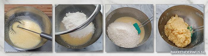 Lemoncurd kokosbollen stap voor stap recept